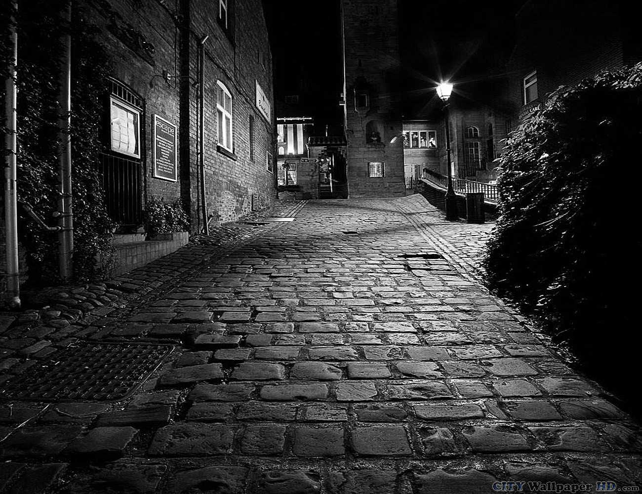 Noite Sombria Na Cidade