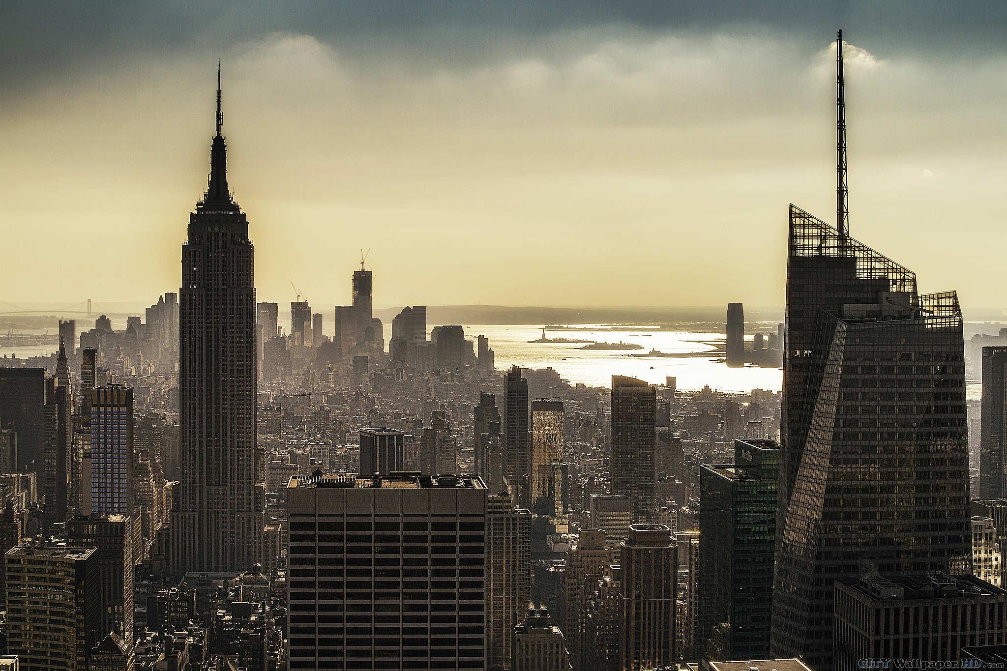 fond d 39 cran new york villes larges photos new york tats unis east river manhattan le. Black Bedroom Furniture Sets. Home Design Ideas
