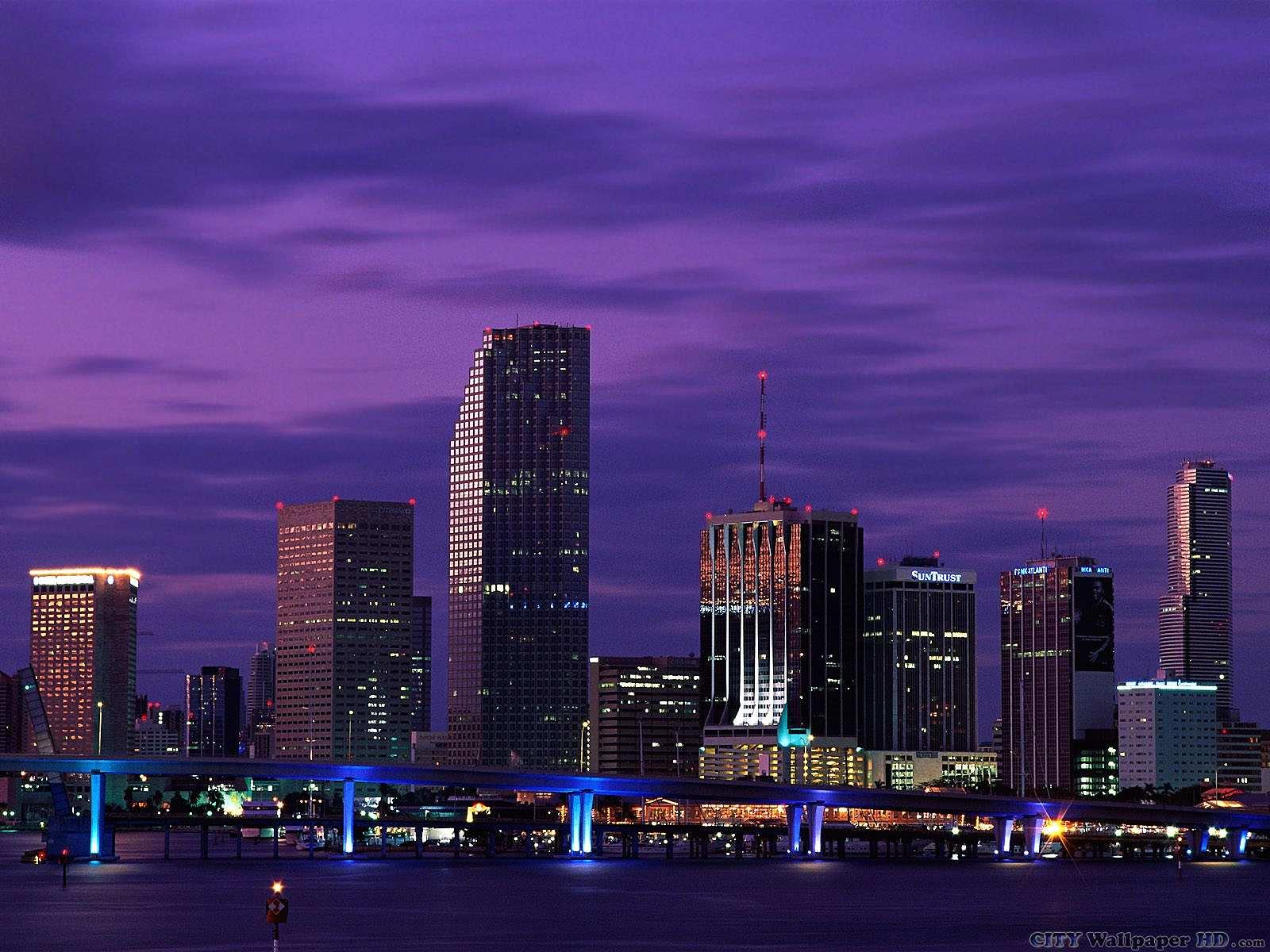 Fond D Ecran Miami Arriere Plans Grand Ecran Tablettes Des Villes Et Des Pays Miami Floride Etats Unis