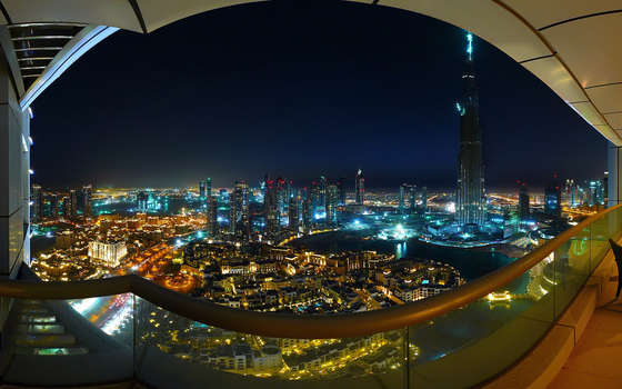 Unique night Dubai.