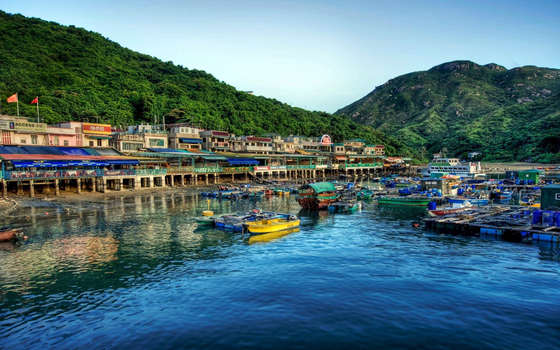 Lamma Island Hong Kong wallpaper.