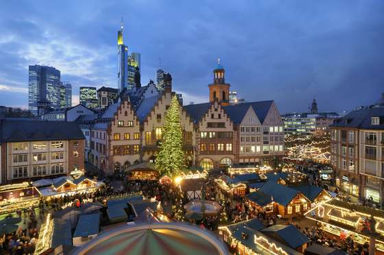 Frankfurt Christmas wallpaper.