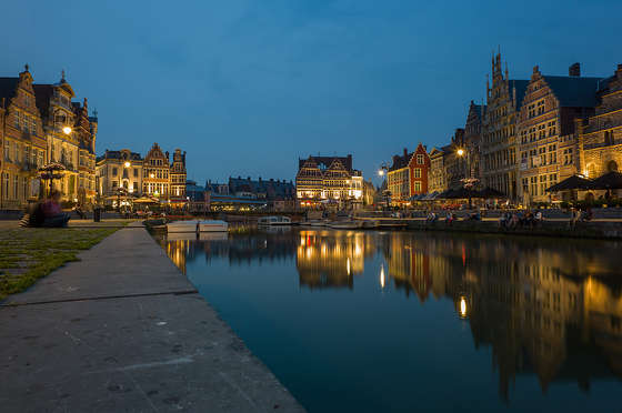 Gent Belgium wallpaper HD.