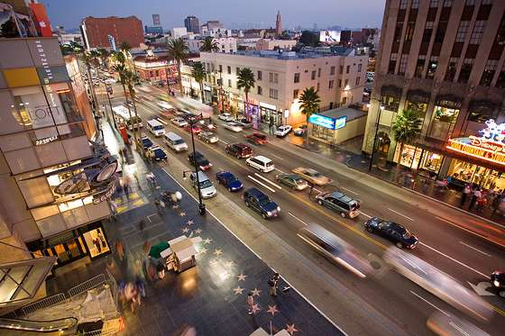 Fond d'écran Hollywood Boulevard HD.