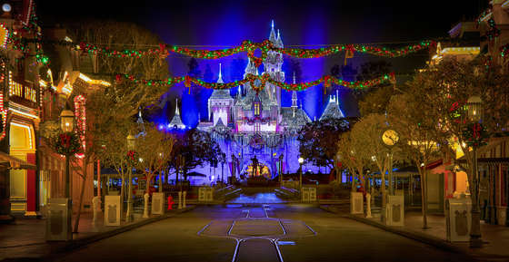 New Year in Disneyland.