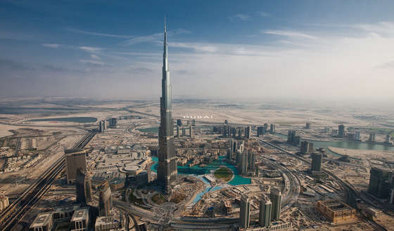 Megapolis dubai wallpaper.
