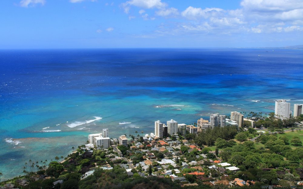 Wallpaper with the image of Honolulu