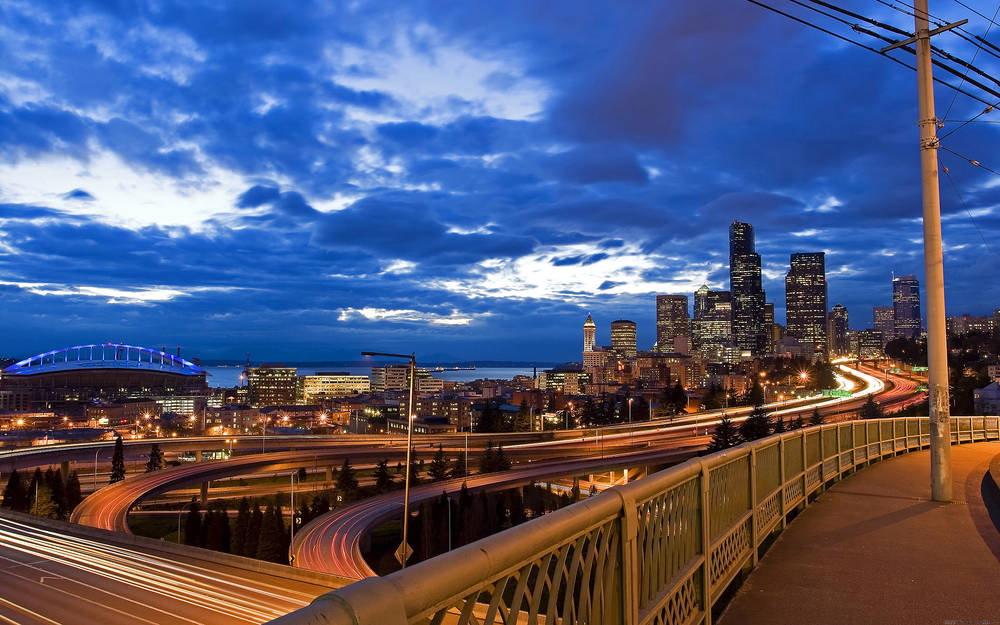 Magnificent views of the Seattle.