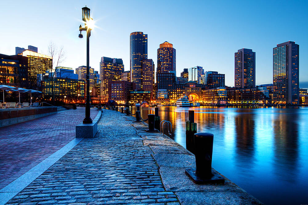 Impressionnant Boston.