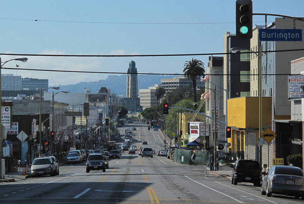Street a Los Angeles.