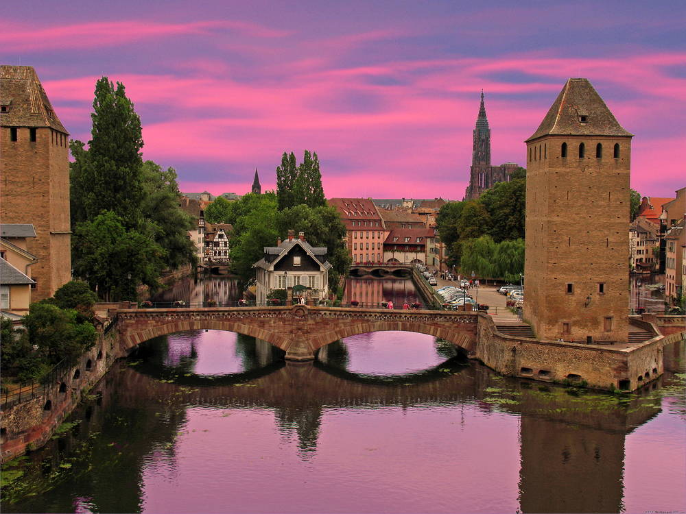 Covered Bridges in Strasbourg.