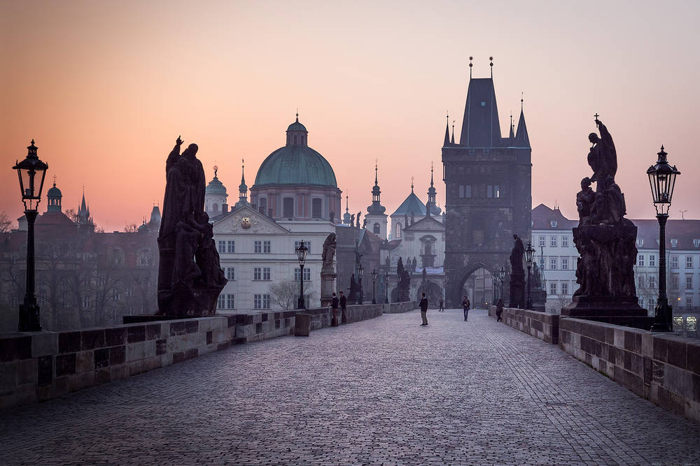 Charles Bridge wallpaper.