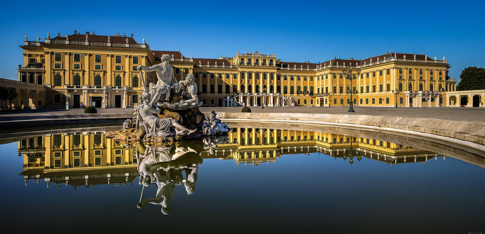Schonbrunn Palace wallpaper.