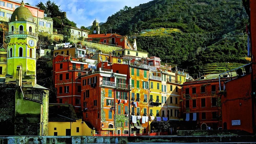 Vernazza Italie Fond D 233 Cran Gratuit Milieux Hd Vernazza