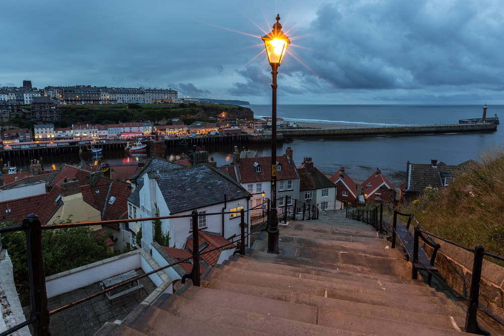 Whitby England Tapete.