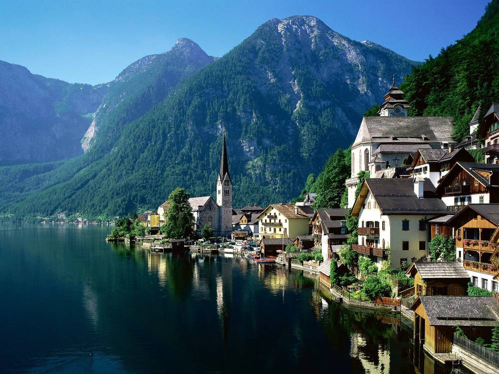 Hallstatt Autriche photo.