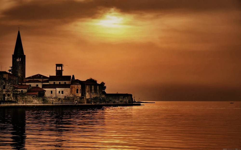 Porec Croatia wallpaper.