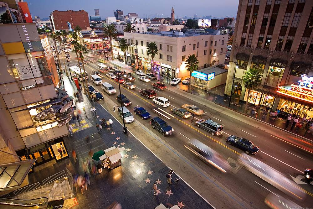 Hollywood Boulevard wallpaper HD.