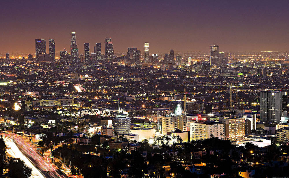 Nuit Los Angeles.