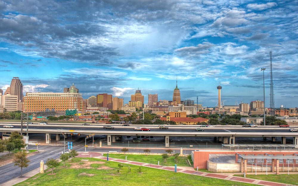 Picturesque and vibrant San Antonio.