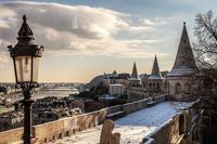 Great view of Budapest.