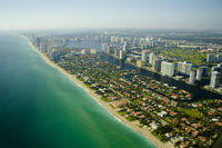 Miami from a height.