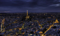 Elegant night Paris.