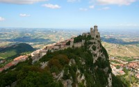 San Marino wonderful, bright picture