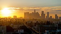 Tramonto a Los Angeles.