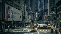 Watch free city with amazing catchy all the streets of Manhattan Times Square.
