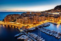 Lovely Fontvieille in Monaco.