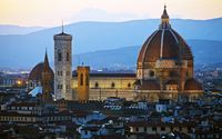 Cathedral of Santa Maria del Fiore in Florence.