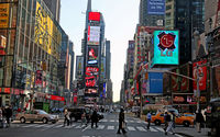 Wallpaper Times Square.
