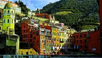 Vernazza Italy wallpaper.
