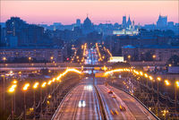 Wallpaper Moscou.