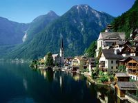 Hallstatt Austria photo.