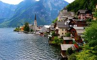 Bad Goisern in Austria Wallpapers HD.
