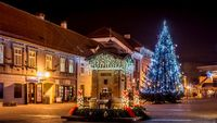 Christmas in Croatia HD wallpaper.