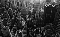 hd wallpapers black and white with a beautiful and impressive metropolis.