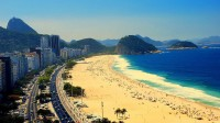 City dances and carnivals , sunny and tropical Rio de Janeiro.