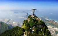 Breathtaking view of the statue of Christ the Redeemer