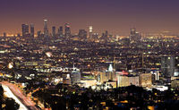 Night Los Angeles.