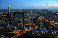 Lovely view of Melbourne.